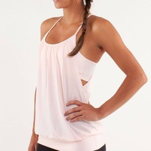 Lululemon No Limits 2 in 1 Athletic Tank Top